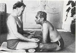 B.K.S. Iyengar et Yehudi Menuhin